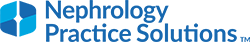 Nephrology Practice Solutions by DaVita Logo