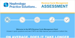 Nephrology Practice Solutions Revenue Cycle Management Assessment graphic
